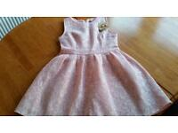 New Look Pink Summer Dress size 8 / 10