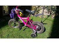 "Child's Raleigh Max bike - 12"" wheels, age 2-4yrs"