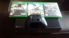 XBOX ONE 500GB CONSOLE +3GAMES