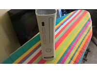 xbox 360 with kinect and 30 games