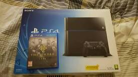 PS4 1 game ( the order )