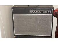 Sound City 40C 40w 2x12 valve Combo