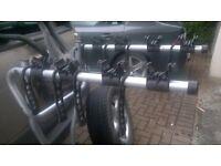 THULE 9708 TOWBAR BIKE CARRIER - HOLD 4 BIKES