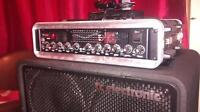 Fender Pro 1200 Bassman head/Roadcase