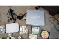 Ps1 with box, 2 controllers, 1 memory card, 13 games