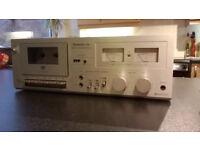 Vintage Technics RS-M6 Cassette Deck