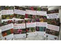 x10 Gardening Books