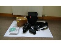 Nikon D600 + AF-S NIKKOR 24-85mm f/3.5-4.5G ED lens - like new 2448 count