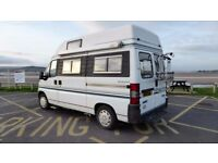 Bessacar E370 Campervan for sale. Great condition, high specification two berth van.