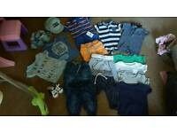 bundle of 3-6 months boys clothers all from next