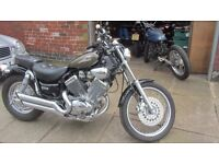 Virago XV 535 , 03 plate. Only 5175 miles ,Great Condition. Some nice Custom parts MOT March 2018