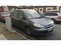 Peugoet 807 2.0HDI 07 plate 7 seater (new turbo needed)
