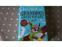David Walliams Book - Grandpa's Great Escape - new