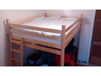 King size loft bed / bunk bed