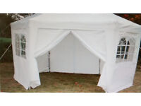 POP UP GAZEBO S HEXAGONAL, SQUARE party hire ALSO LAZY SPA HIRE