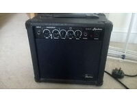 10 watt electric guitar amp ( hardly used )
