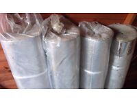 4 x wooden floor insulation roll