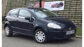 2009 59 FIAT PUNTO GRANDE 1.4 ACTIVE , 3 DOORS , DRIVES LIKE NEW , LONG MOT , GREAT MILEAGE - £1490