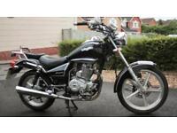 2016 Lexmoto Arizona 125cc, nice bike, handlebar needs straightening. Quick sale