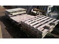 Free - 12 Wooden Pallets (5 gone 7 left) - ideal for making planters of garden furniture