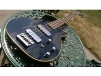 Washburn B200 Les Paul type 4 string bass