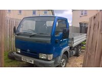 Nissan cabstar pick up very low miles only 51k