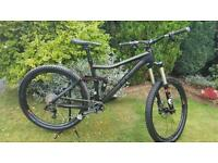 Cube Stereo 160 carbon mountain bike