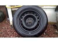 BRAND NEW CONTINENTAL ECO-CONTACT WHEEL AND TYRE 4X100 FITMENT RENAULT CLIO 175/65/14