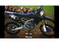 Yamaha Yz250f yzf