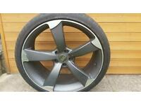 "Audi A4 A6 A7 1 x 20"" Alloy wheel with tyre (2 available)"