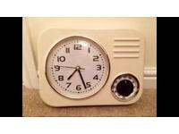 Kitchen clock and timer