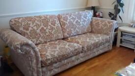 DFS Paramount Sandflower 4 seater sofa