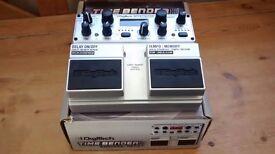 Digitech timebender guitar delay effect pedal
