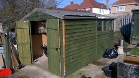 shed 8x12 pressure treated