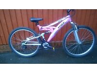 TRAX TFS1 Ladies or Youths Bike.... Do you love Pink?? £50