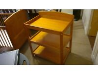 3 Tiers Wooden Baby R us Changing Table Unit with Changing Mat
