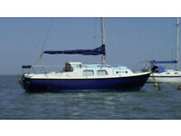 Westerly Centaur 26ft Yacht