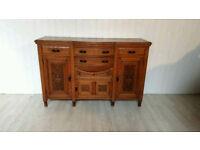 Victorian Solid Oak Sideboard