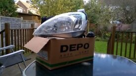 Corsa 2004 headlight unit (nearside)
