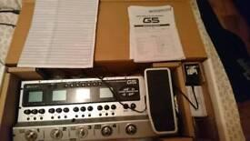 G5 Guitar Effects Pedal and Amp Simulator In Original Packaging