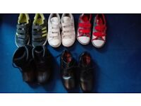 Boys Shoes/trainers/boots bundle. Timberland boots - size 12