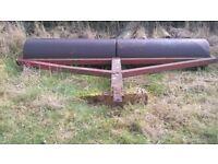 Farm field roller 8' wide