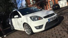 2005 (55) FORD FIESTA ST 150 WHITE ST150 MOTED PX WHY NOT RS TURBO SIERRA BMW FAST CAR COILOVERS