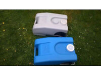 Fiamma Roll-Tank portable waste water tank and fresh water tank, 23L price for both
