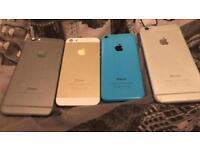 Job lot of iPhone parts very good buy (READ DESCRIPTION)