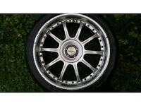 Alloys - Team Dynamic - 10 Spoke - Set of 4 - 4x108 PCD - 18x7.5J -