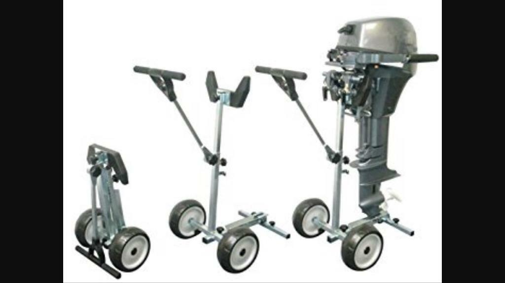 Rooteq Outboard Engine Motor Trolley Wheeled