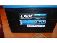 exide marine dual fit leisure battery