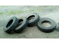 4 r14 c 185 gd tread van tyres