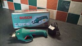 Bosch Ciso Cordless Secateur. Very good condition in makers box, full instructions.